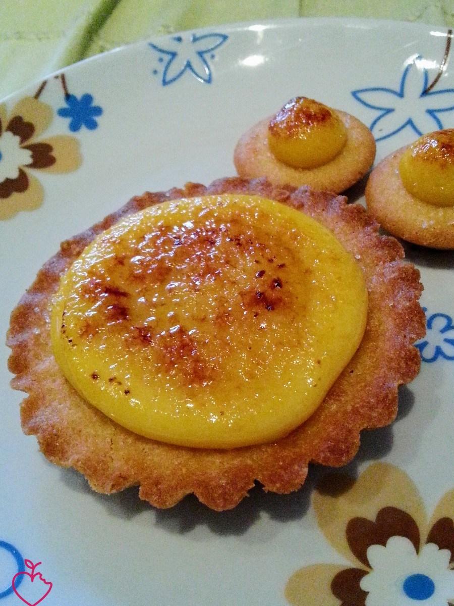 Crostatine al curd all'arancia