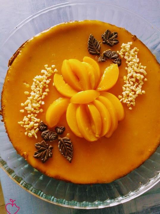 Cheesecake albicocche e amaretto