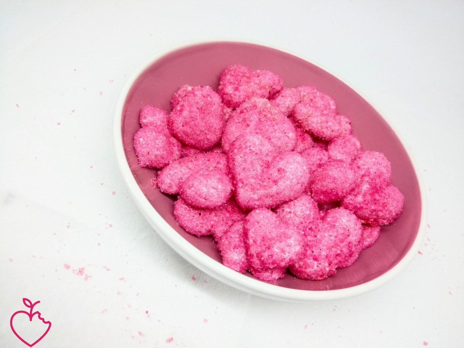 Cuori di Marshmallow alla fragola